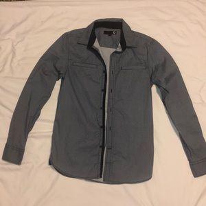 G by Guess long sleeve dress shirt size XS